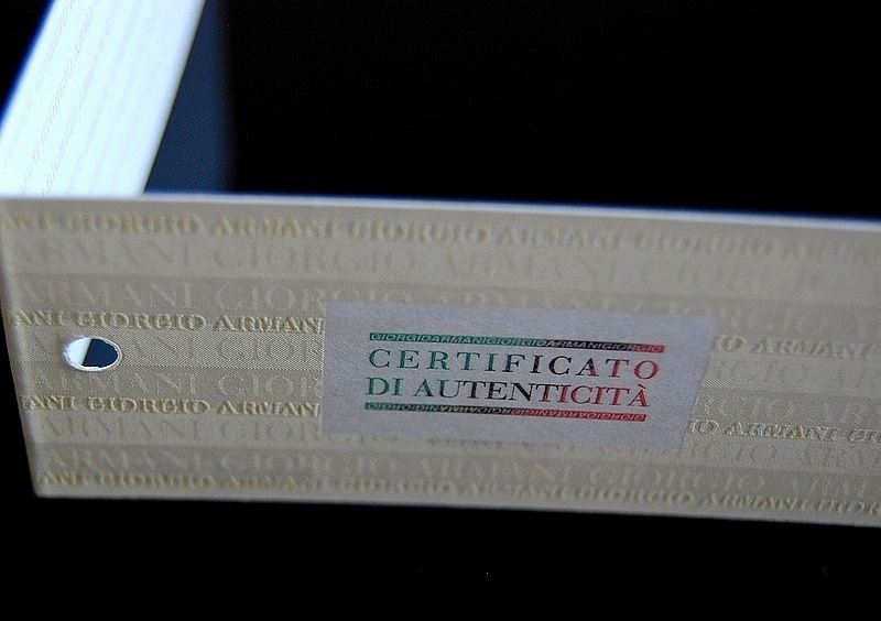 Fake Certificate Of Authenticity Unique Emporio Armani Ladies Watch Ar1689 Brand New with