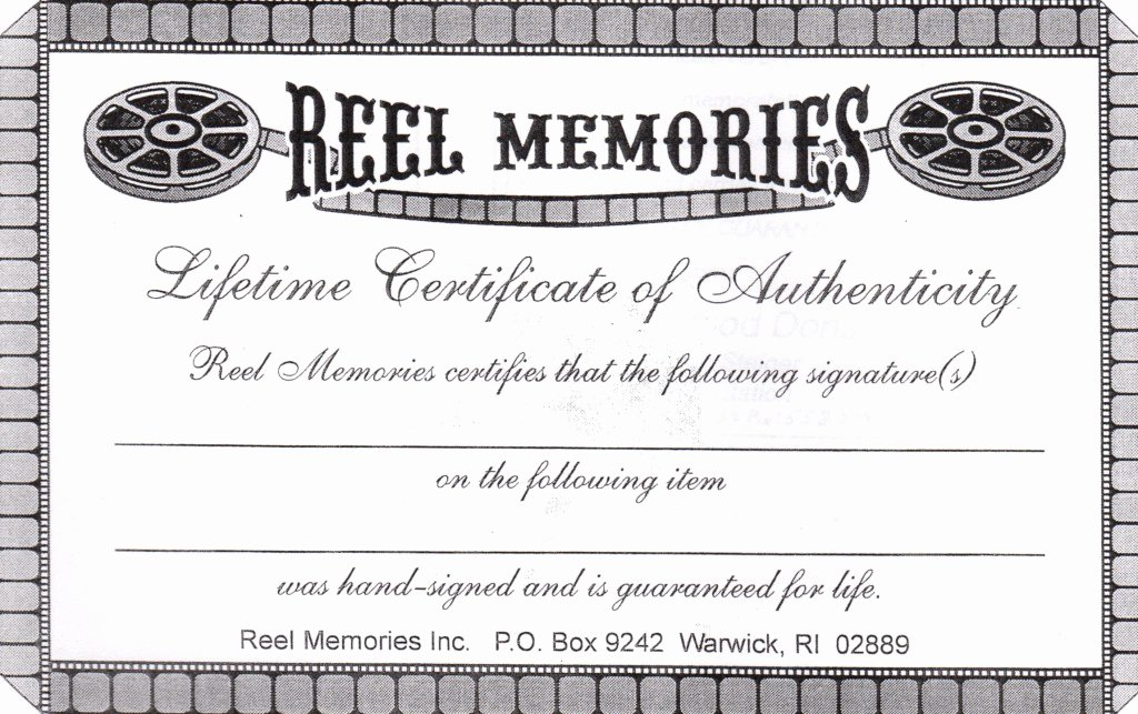 "Fake Certificate Of Authenticity Unique Still ""allowed"" On Ebaysports Collectors Digest"