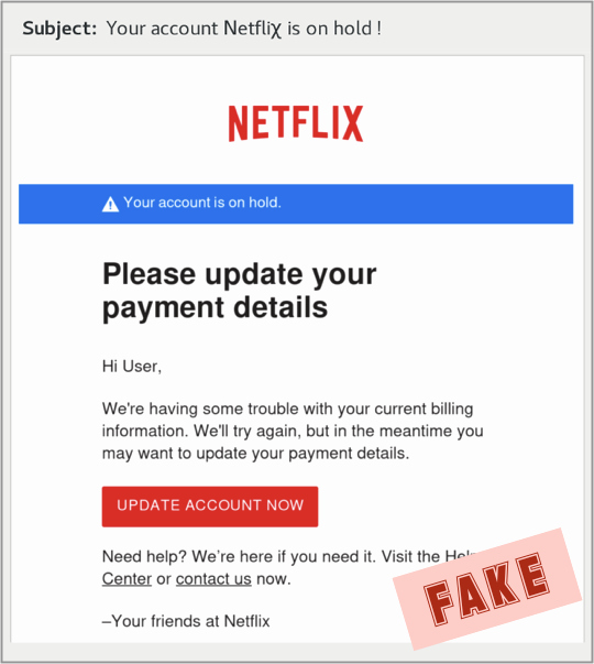Fake Credit Report Best Of Scam the Week the Most sophisticated Netflix Phishing yet