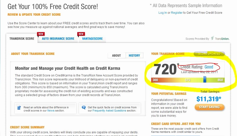 Fake Credit Report Best Of What is A Good Credit Score Get Your Credit Score for