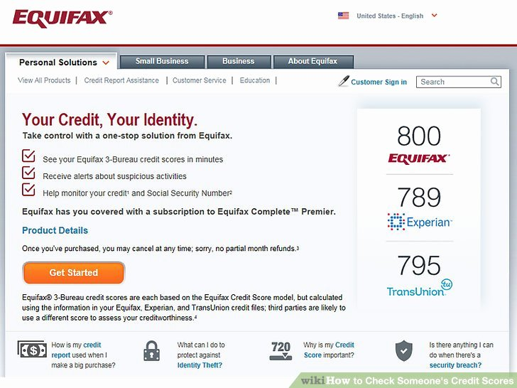 Fake Credit Report Inspirational 3 Ways to Check someone S Credit Scores Wikihow