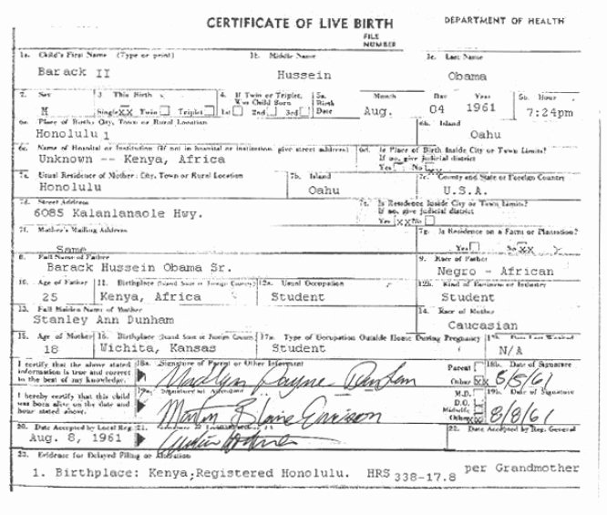 Fake Death Certificate for Work New Caution This Might Strain Ur Thinker Legal Proof Obama