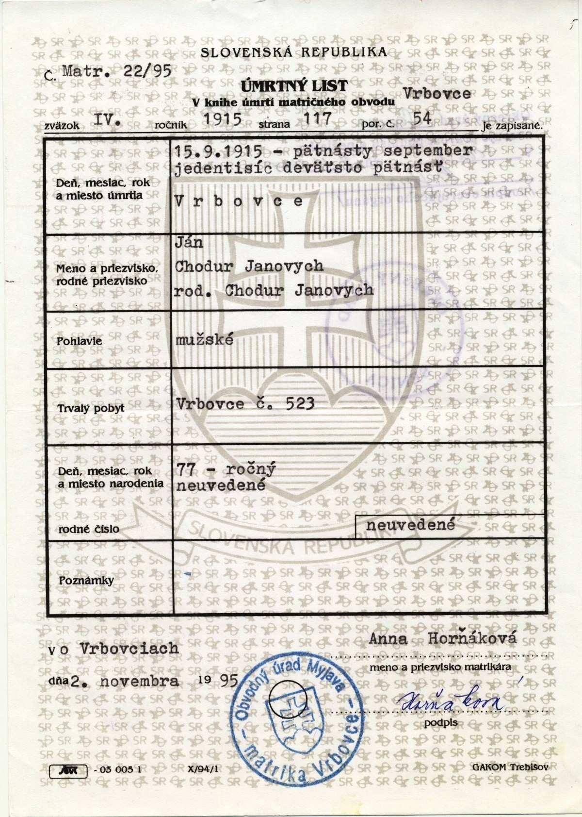 Fake Death Certificate Template Fresh Fake Birth Certificate Generator Clean Death Certificate