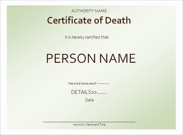 Fake Death Certificate Template New Free Clip Art Death Certificate – Cliparts