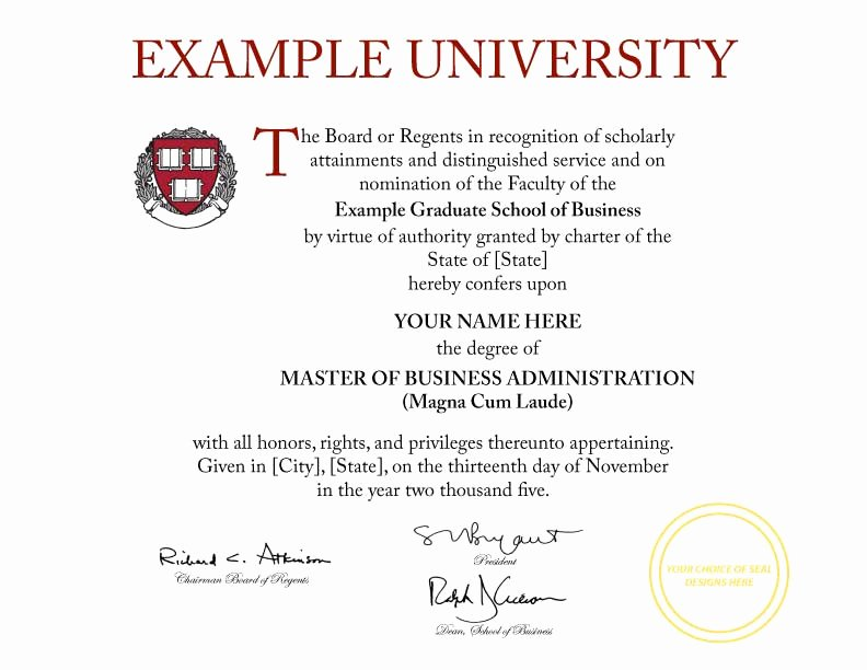 Fake Degree Certificate Template New Buy A Fake College Degree Line