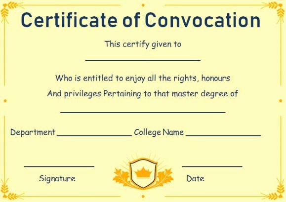 Fake Degree Certificate Template Unique Free Fake Masters Degree Certificate Templates
