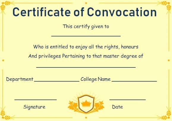 Fake Degree Certificate Template Unique Free Fake Masters Degree Certificate Templates