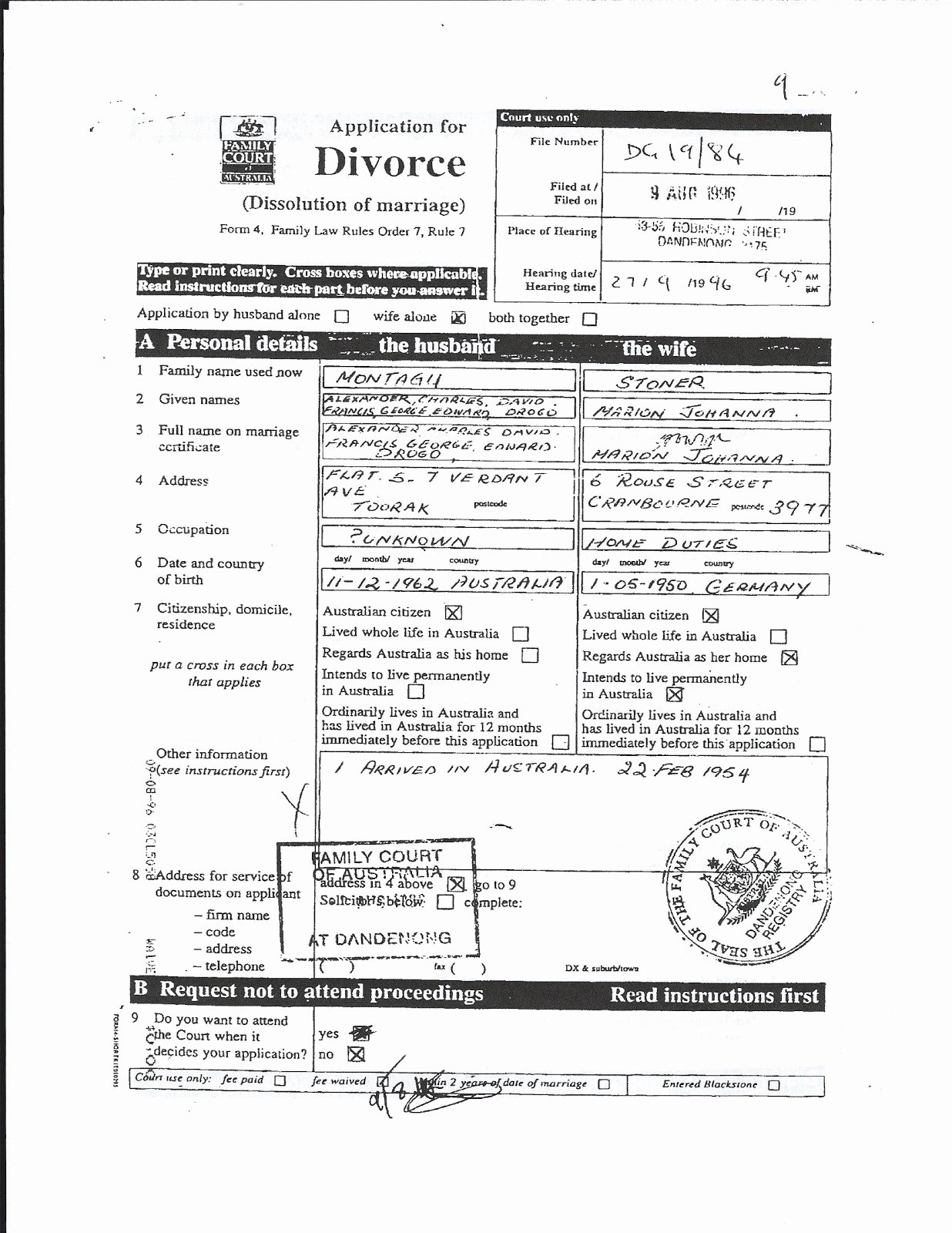 Fake Divorce Certificate Template Lovely Printable Divorce Papers for Maryland – Free