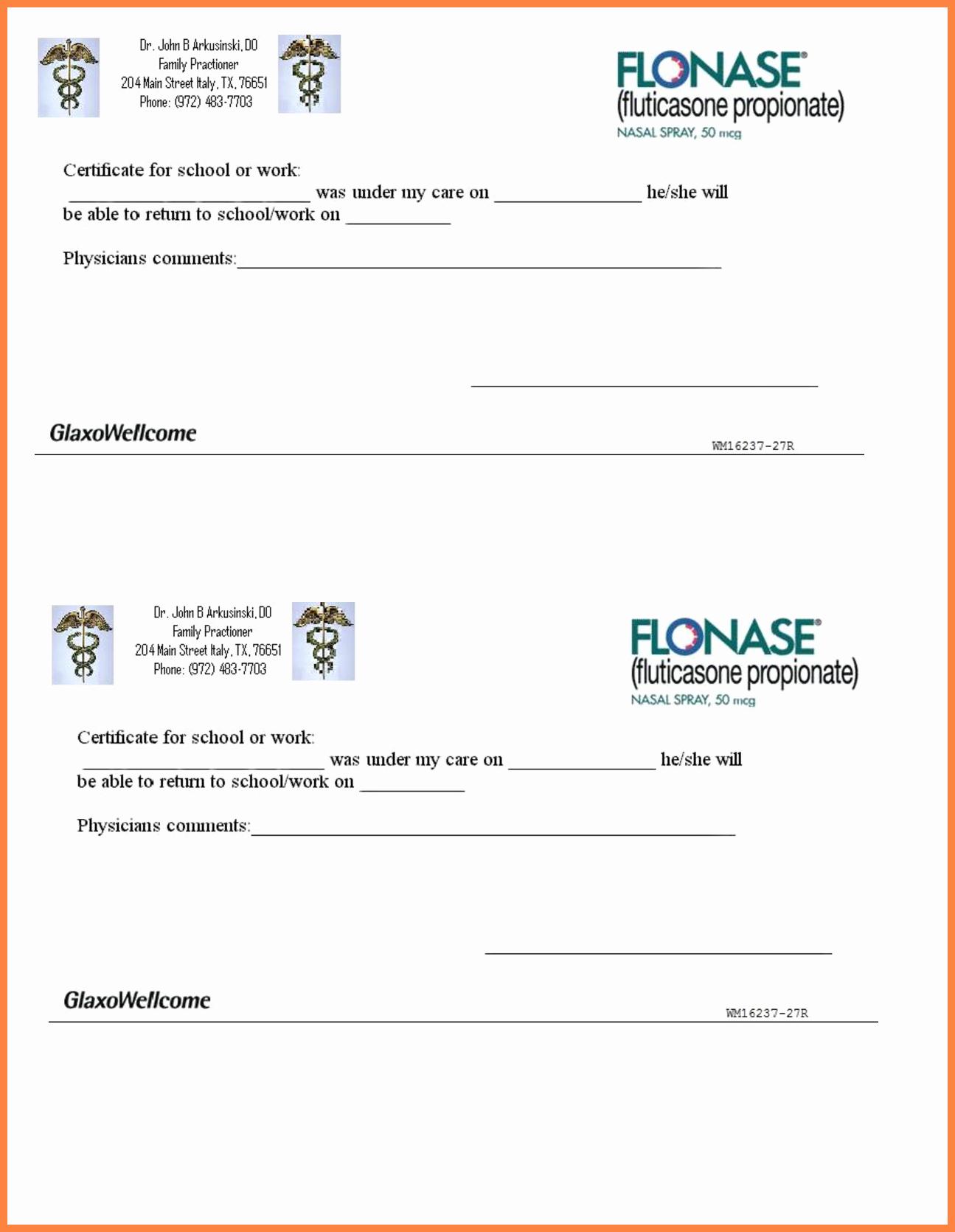 Fake Doctors Note Luxury 10 Printable Fake Doctors Notes Free