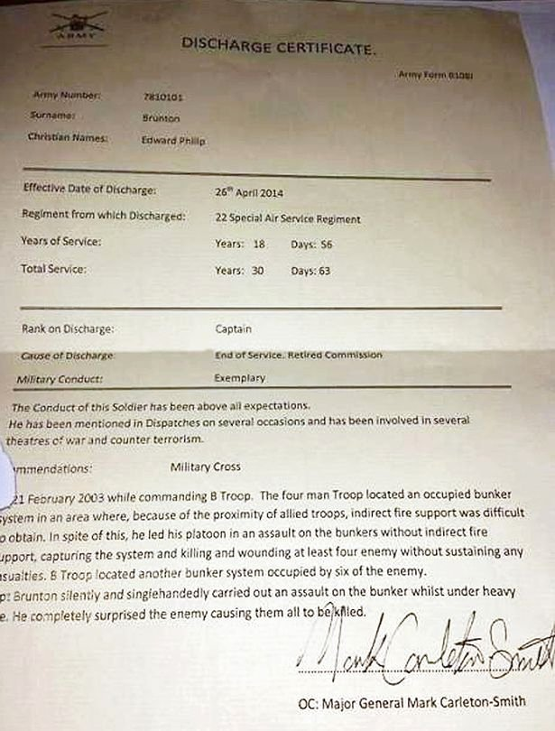 Fake Hospital Discharge forms Best Of Fake Sas War Veteran who Claimed to Have Protected