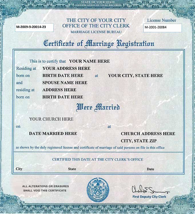 Fake Marriage Certificate Template Best Of Fake Marriage Certificate