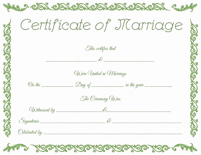 Fake Marriage Certificate Template Lovely 20 Best Printable Marriage Certificates Images On