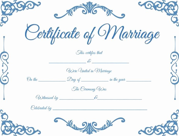 Fake Marriage Certificate Template New Fake Traditional Corner Marriage Certificate