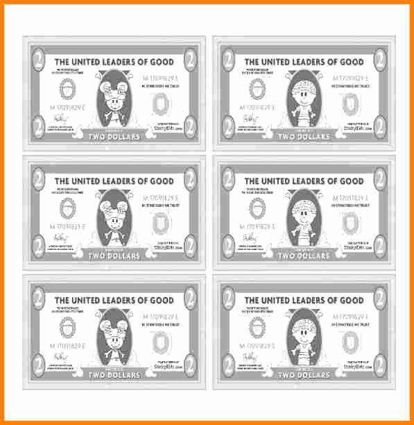 Fake Money order Template Elegant 7 Customizable Fake Money Template
