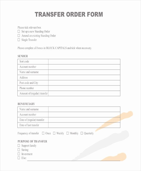 Fake Money order Template Inspirational Money order forms 8 Free Word Pdf format Download