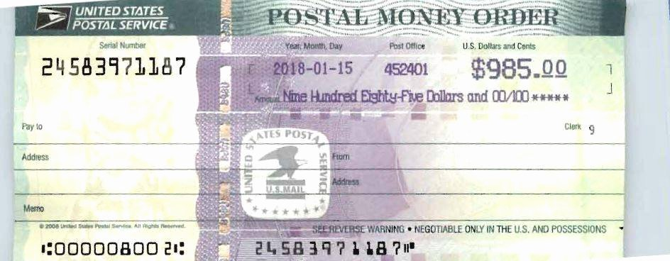 Fake Money order Template New Terrebonne Parish Sheriff Warns Of Postal Money order Scam