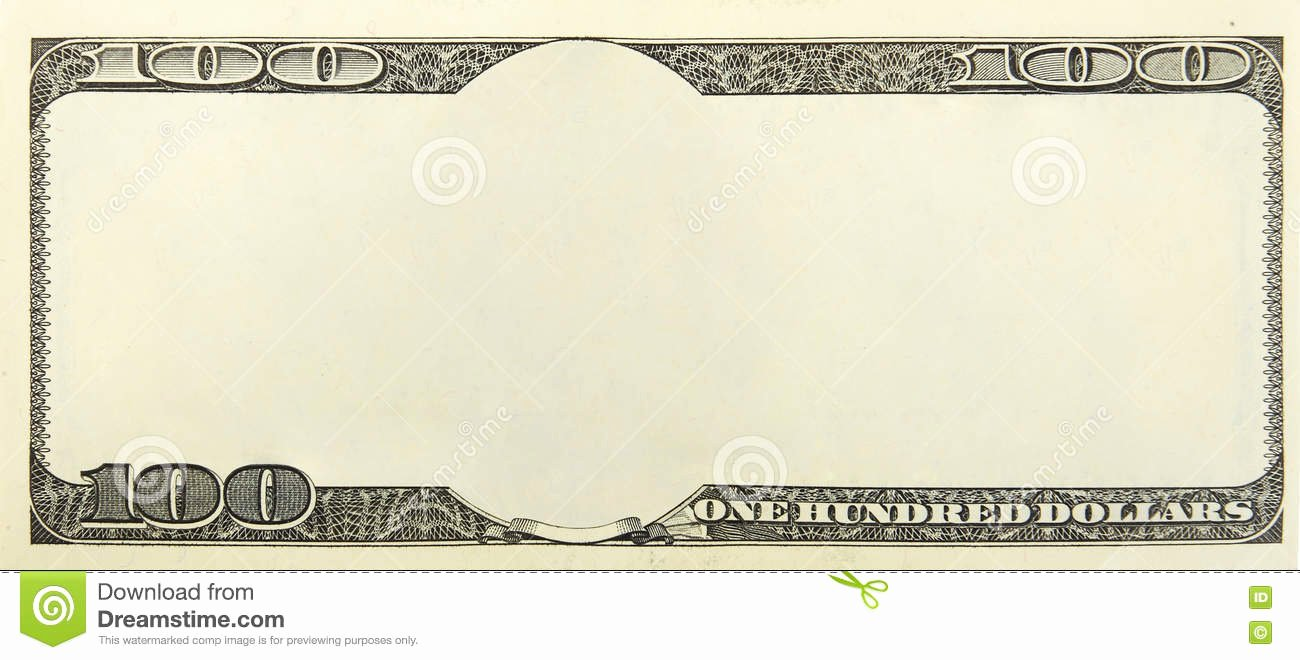 Fake Money Template Photoshop Awesome Blank Money Background Stock Photo Image Of Border