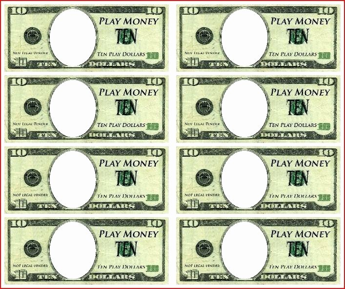 Fake Money Template Photoshop Beautiful Fake Money Template – Ransjournal
