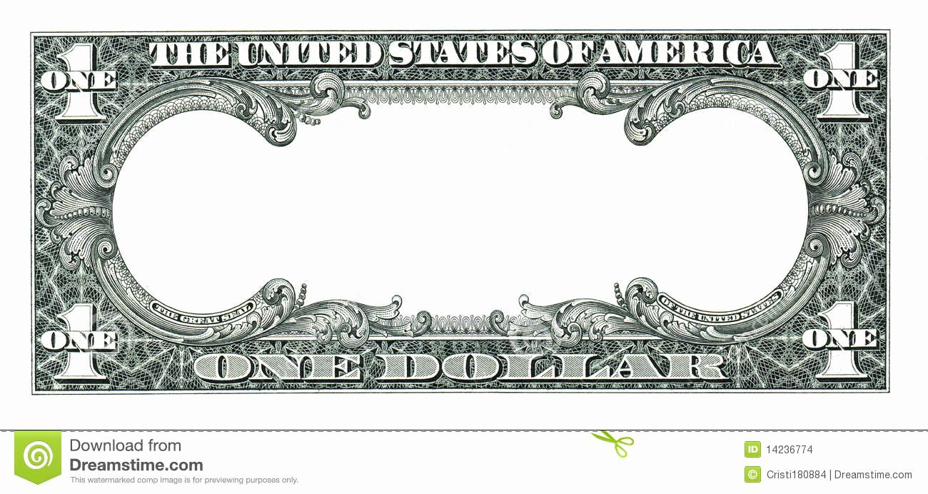 Fake Money Template Photoshop Fresh Empty Dollar Stock Photo Image Of United Background