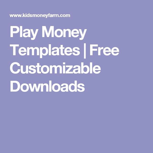 Fake Money Template Word Awesome 8 Best Images About Rewards On Pinterest
