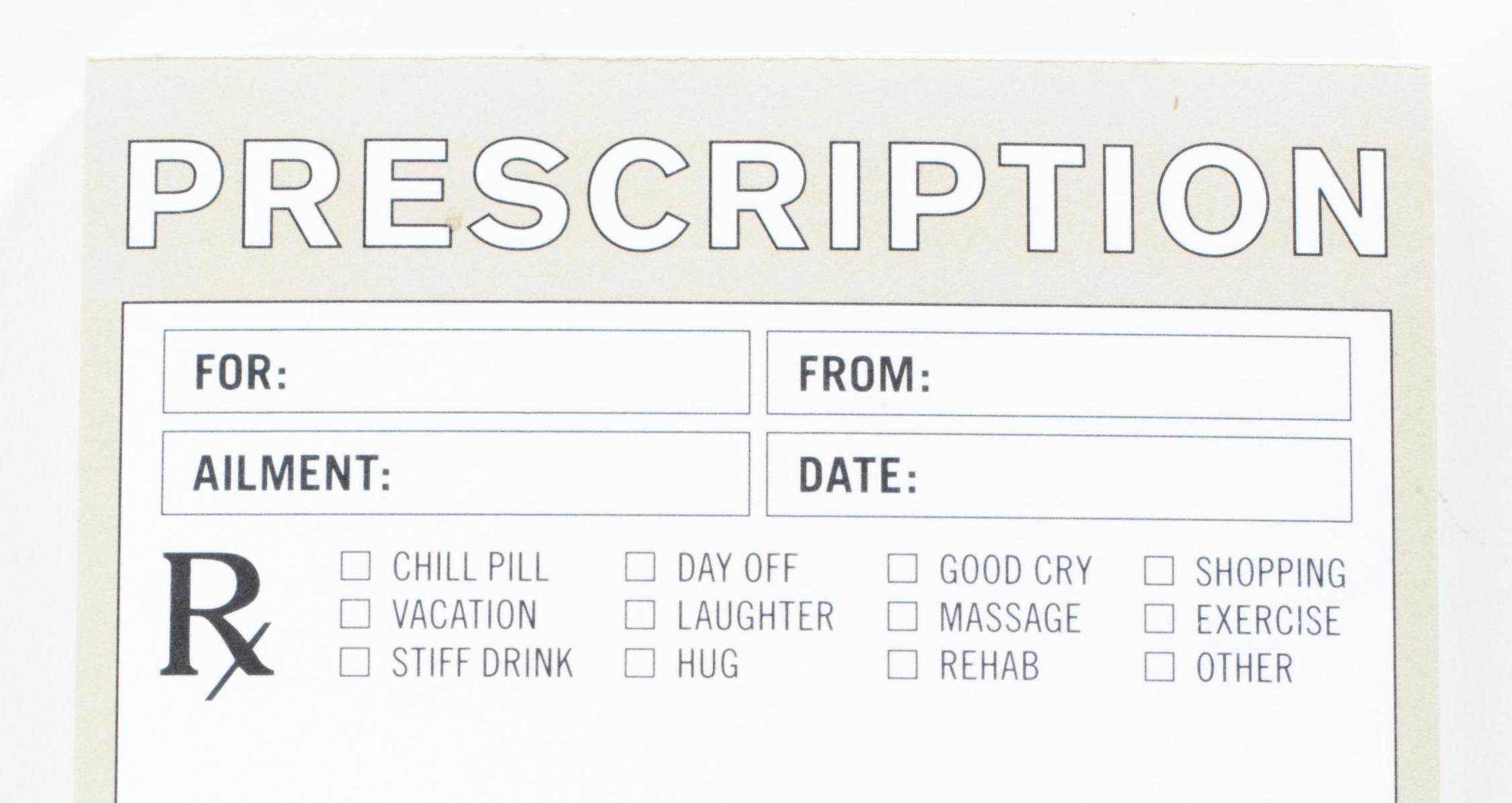 Fake Prescription Pad Template Fresh Funny Prescription Pad