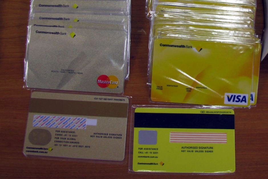 Fake Report Card Generator Lovely Seized Blank Credit Cards Abc News Australian