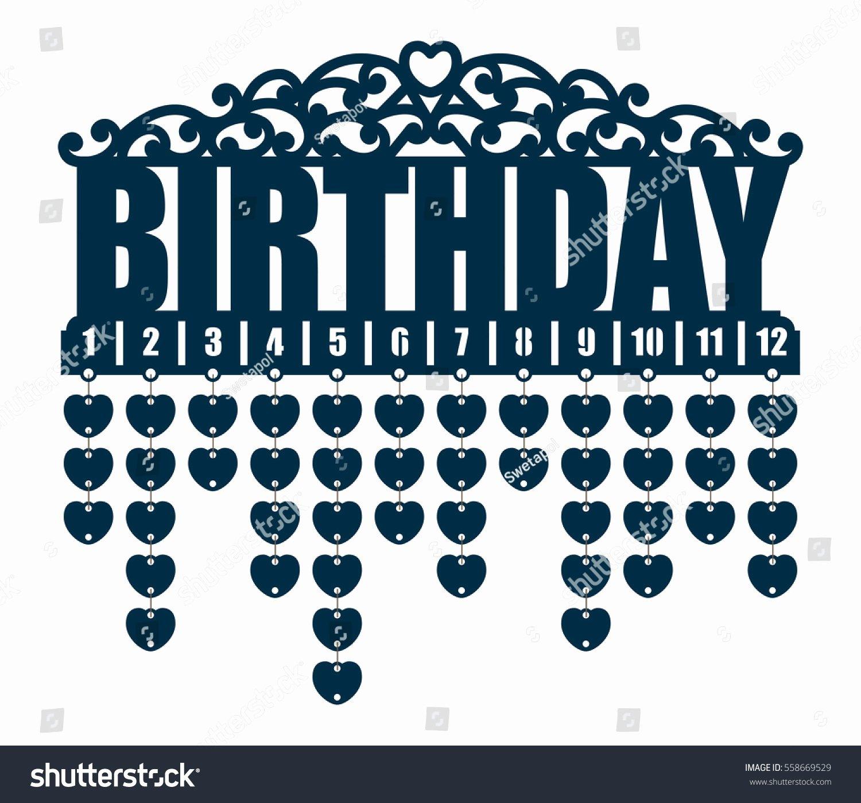 Family Birthday Calendar Template Best Of Family Birthday Calendar Hearttags Anniversary Reminder