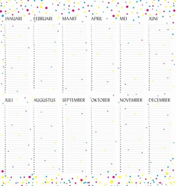 Family Birthday Calendar Template Inspirational 23 Sample Birthday Calendar Templates Psd Eps Ai