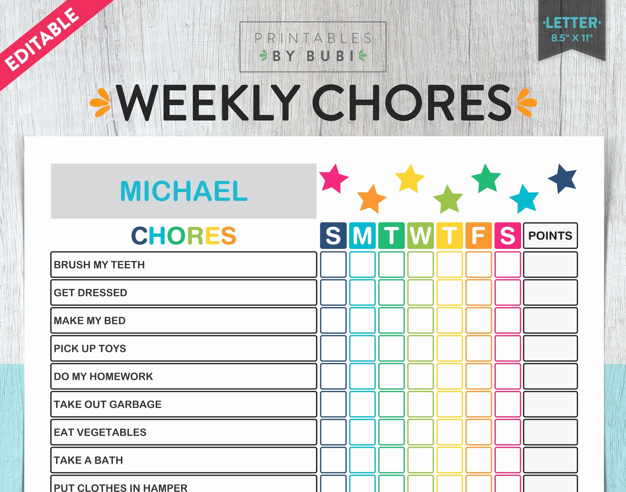 Family Chore Charts Templates Beautiful Kids Chore Chart Chore Chart for Kids Kids Chores