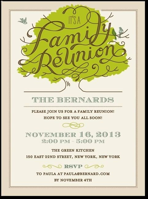 Family Get together Invitation Letter Luxury 25 Best Ideas About Family Reunion Invitations On