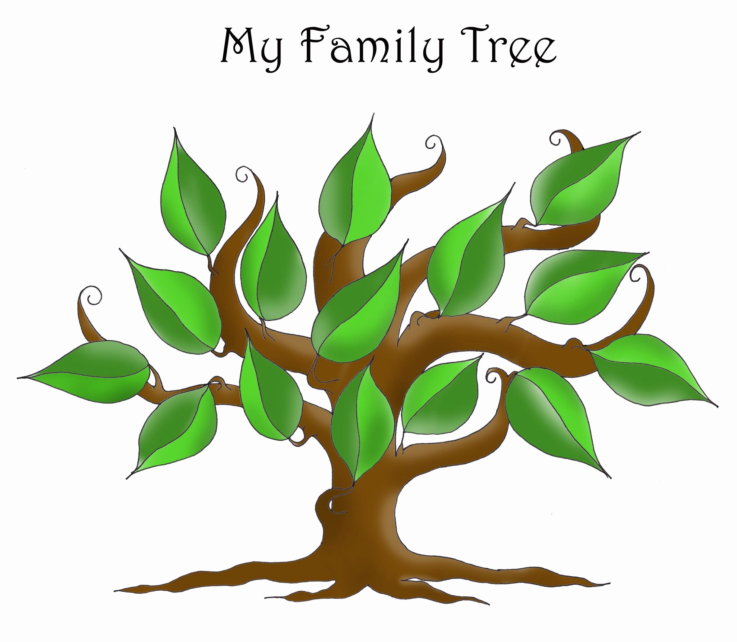 Family Health Tree Template Best Of Free Editable Family Tree Template Daily Roabox