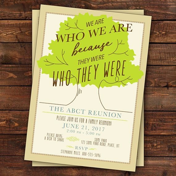Family Reunion Invitations Letter Inspirational Best 25 Family Reunion Invitations Ideas On Pinterest