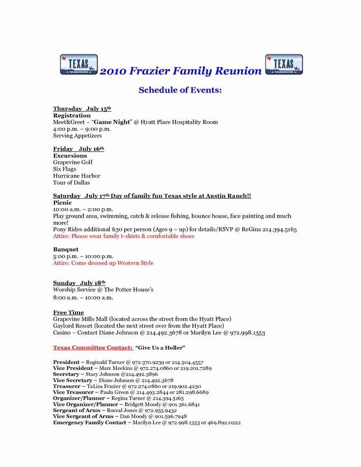 Family Reunion Letter Templates Unique 75 Best Reunion Registration Images by Reunions Magazine