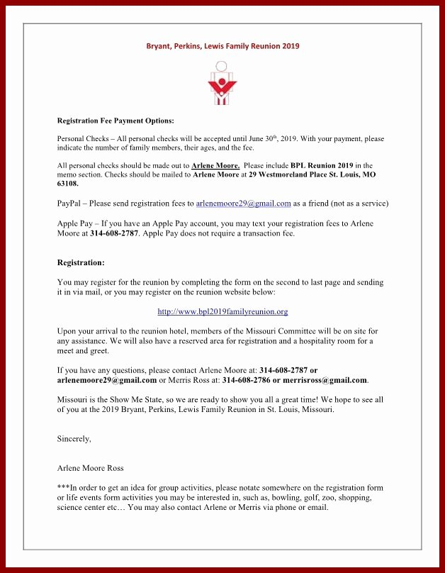 Family Reunion Letters Template Beautiful Immigration Letter Support for A Family Member