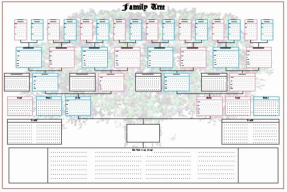 Family Tree Chart New Ancestor Family Tree Chart Blank Charts This Chart