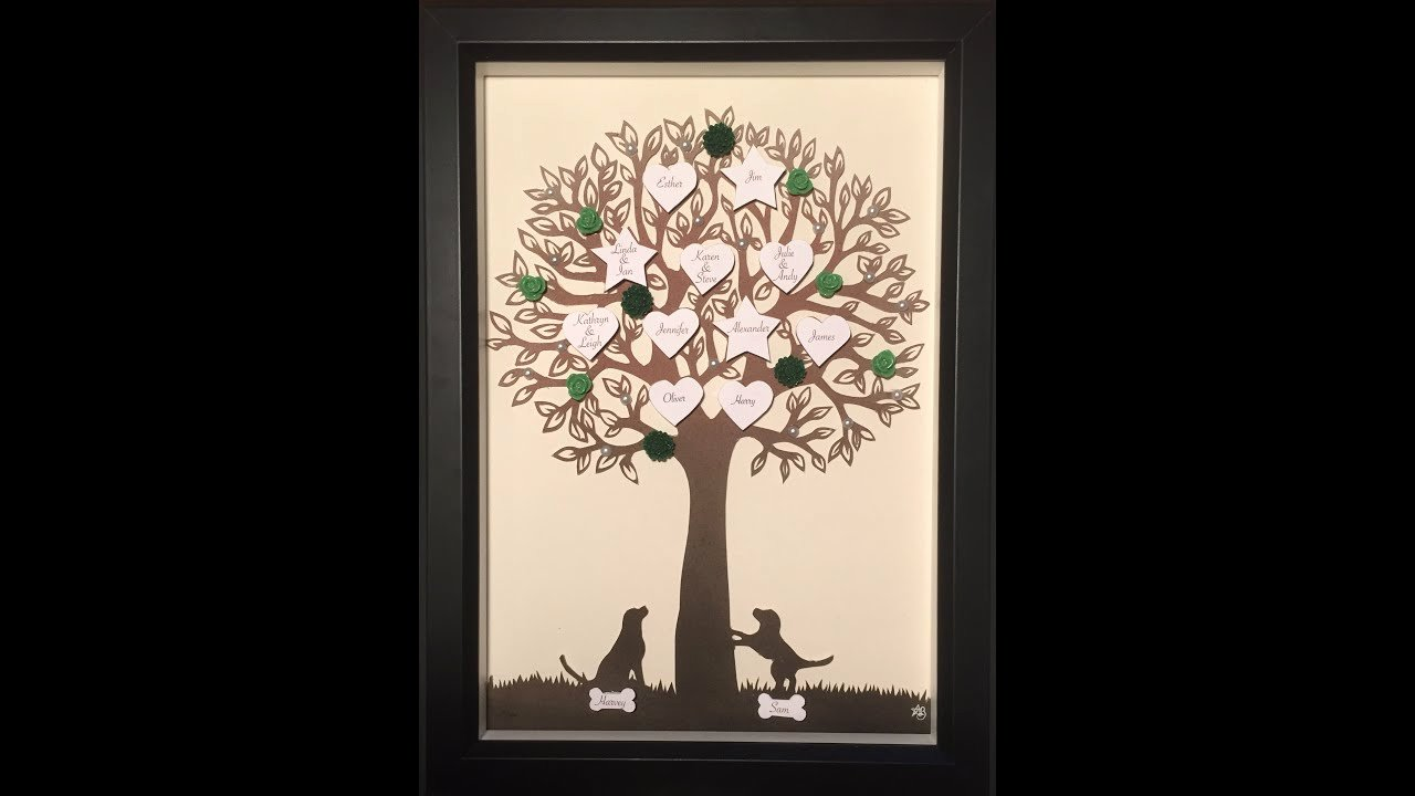 Family Tree Cut Out Unique Family Tree Speed Paper Cut Out What A Wonderful World