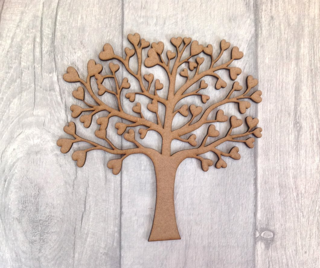 Family Tree Cut Out Unique Laser Cut Family Tree for Crafters Mdf Tree