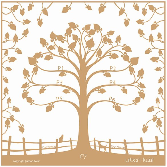 Family Tree Designs Templates Beautiful 19 Amazing Family Tree Art Templates & Designs