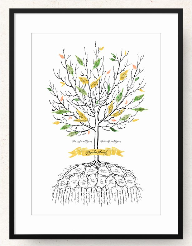 Family Tree Designs Templates Lovely 19 Amazing Family Tree Art Templates & Designs