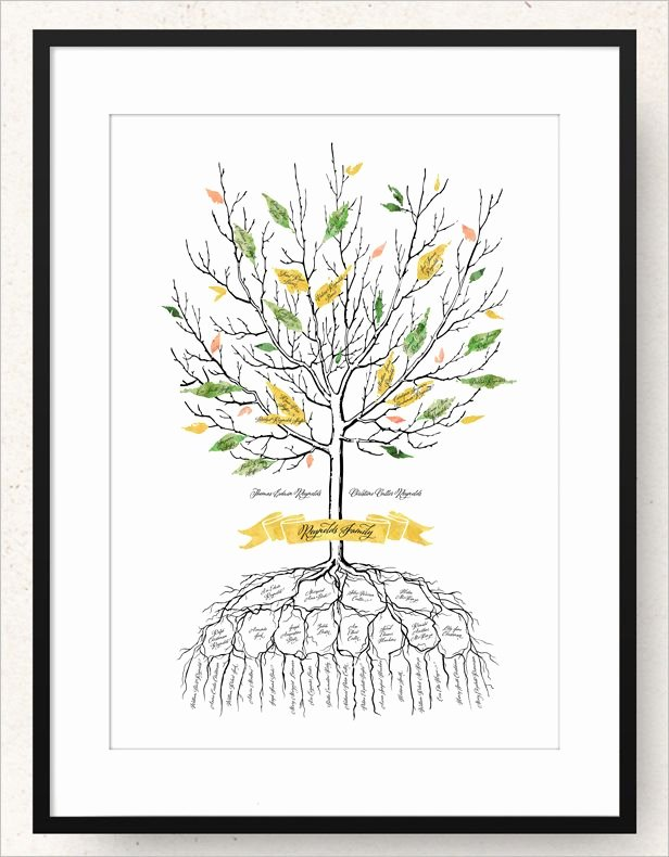 Family Tree Designs Templates New 15 Amazing Family Tree Art Templates & Designs