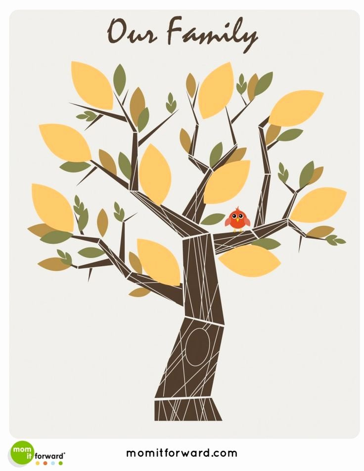 Family Tree Designs Templates New 9 Best Family Tree Images On Pinterest