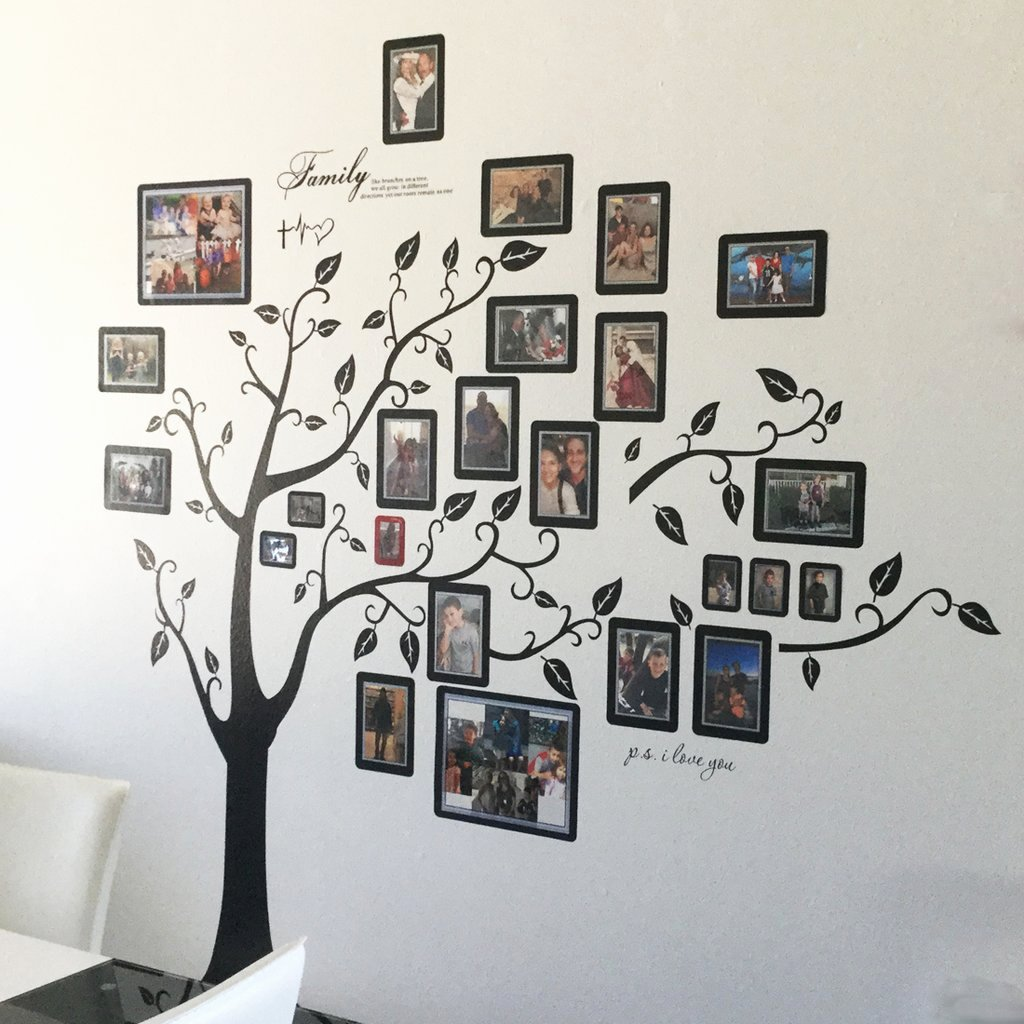 Family Tree How to Make Fresh Create A Family Tree Wall Display – Fodeez Frames