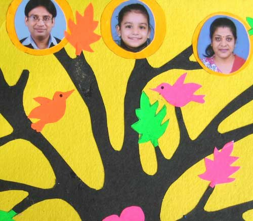Family Tree How to Make New Family Tree for Kids Project How to Make Your Own Simple