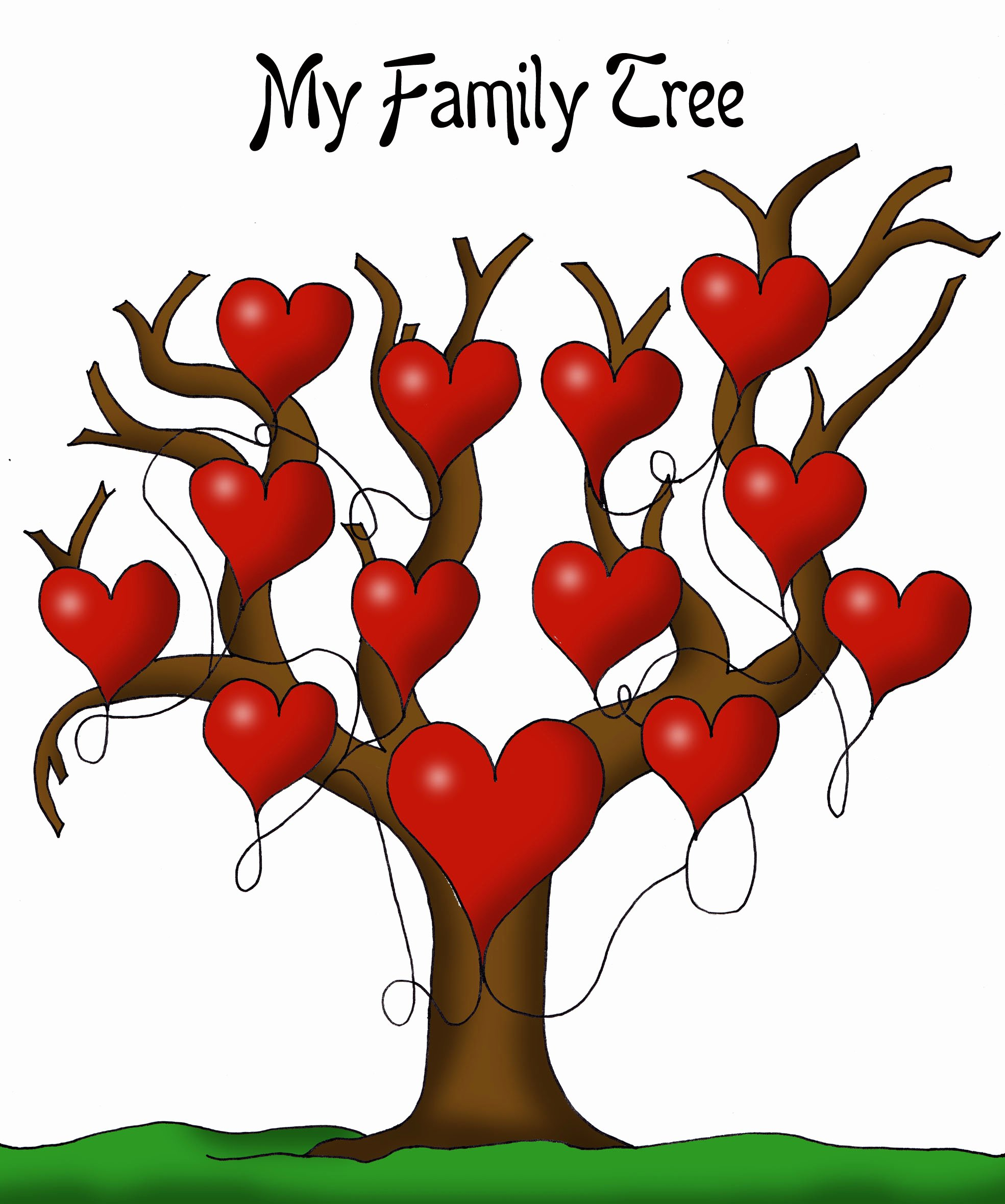 Family Tree Images to Print Best Of A Printable Blank Family Tree to Make Your Kids Genealogy