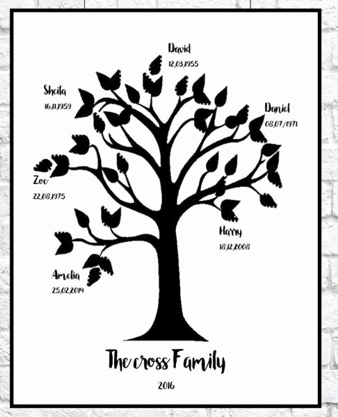 Family Tree Images to Print New Family Tree Print