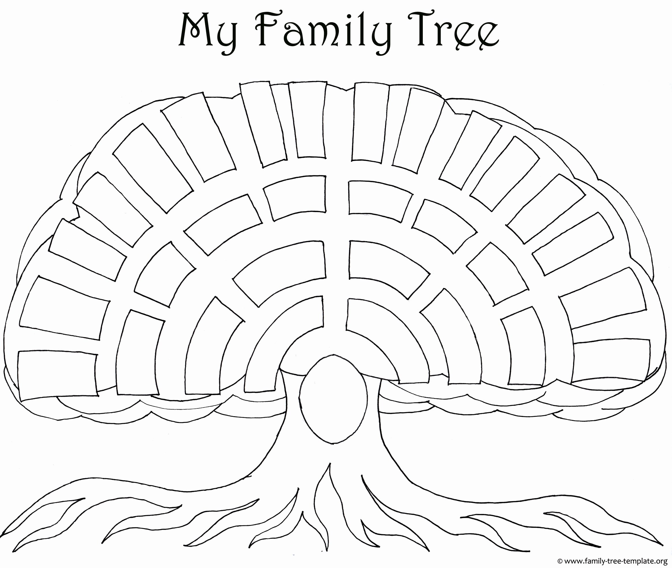 Family Tree Images to Print New Family Tree Templates & Genealogy Clipart for Your