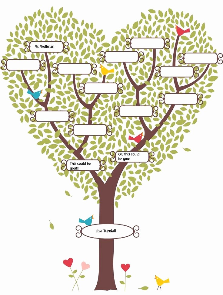 Family Tree Poster Template Awesome Pinterest • the World's Catalog Of Ideas