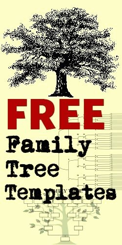 Family Tree Poster Template Fresh Family Tree Templates On Pinterest
