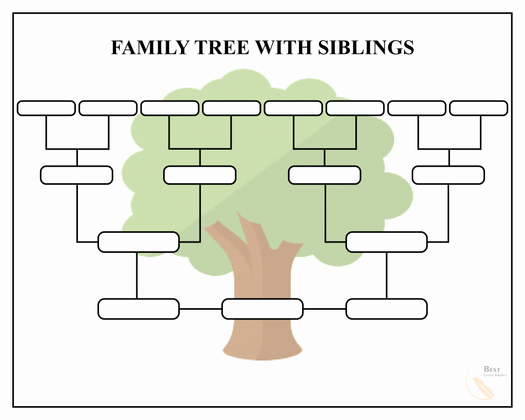 Family Tree Template Doc Fresh Free Family Tree Template – Pdf Excel Word & Google Doc