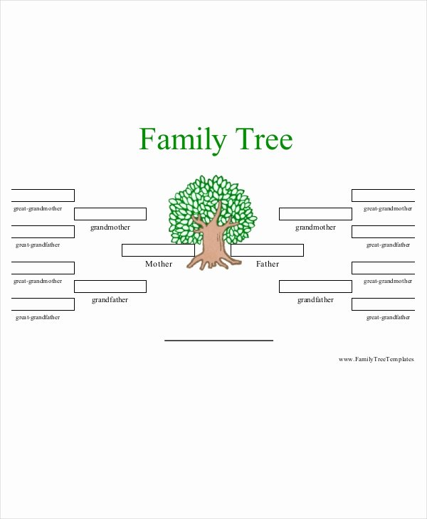 Family Tree Template Doc Inspirational Family Tree Template 10 Free Psd Pdf Documents